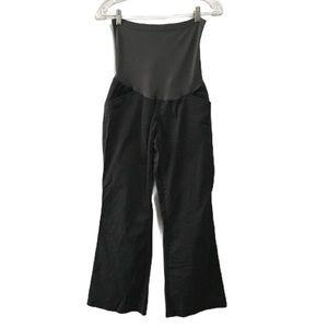 Two Hearts Maternity Boot Cut Dark Gray Pants M